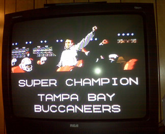 SUPER CHAMPION TAMPA BAY BUCCANEERS