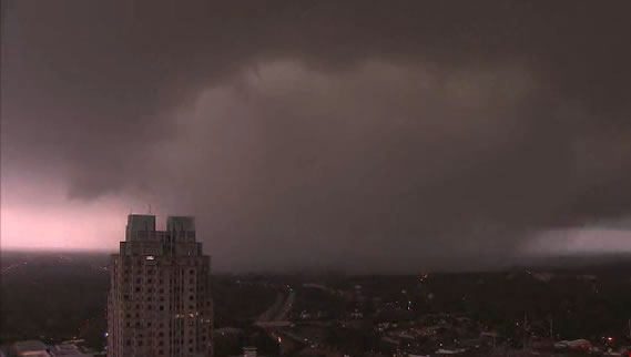 April 16 tornado in Raleigh